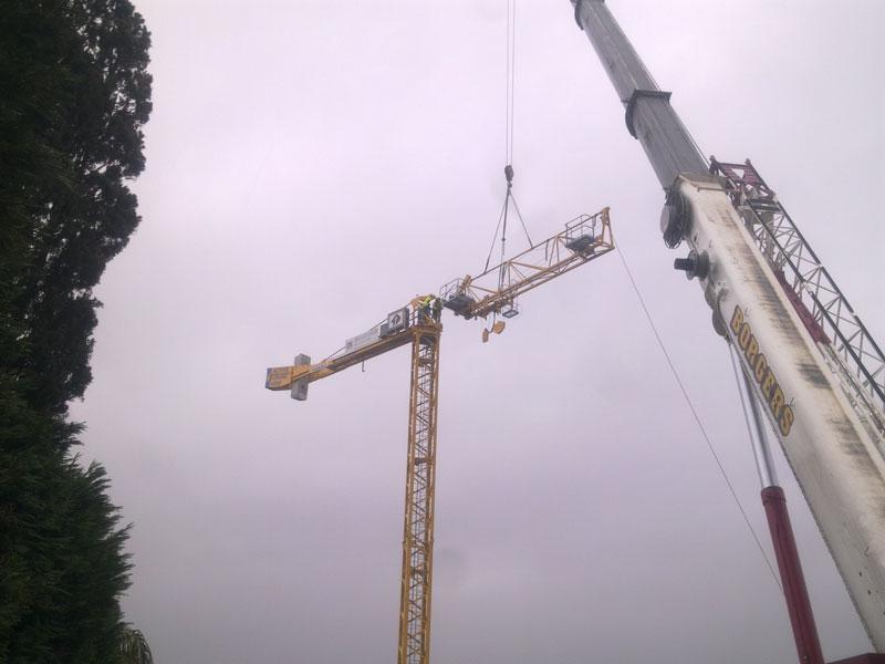 Tower crane hire in Sydney & Brisbane